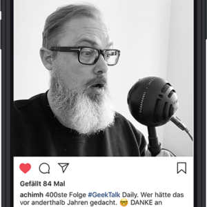 "Achim Hepp | AUDIO | Podcast ""#GeekTalk Daily"""