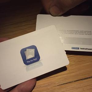 BamBoo! Tobit-Karte mit RFID