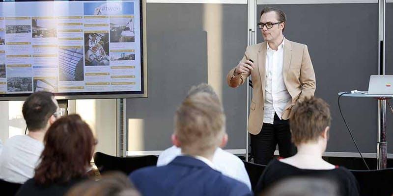 Twittwoch Dortmund: Achim Hepp im innogy Tower