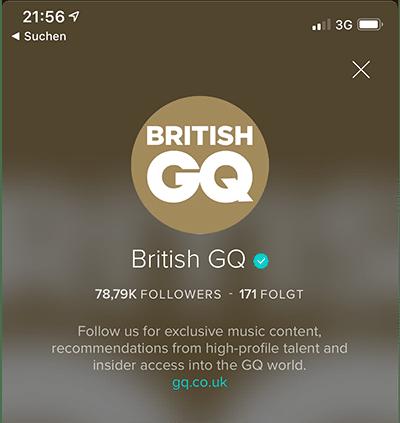 VERO: GQ Profil