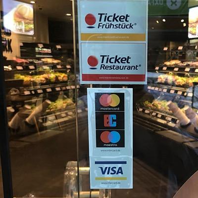 Kreditkarten bei BackWerk