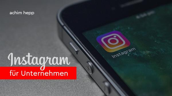 Vortrag: Instagram für Unternehmen