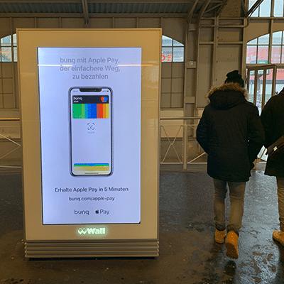 bunq Werbung für Apple Pay