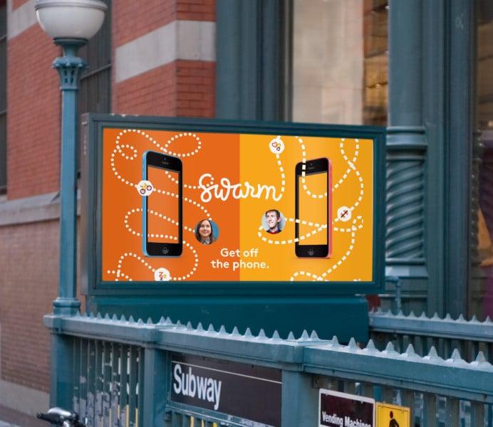 Foursquare sind der City Guide und Swarm
