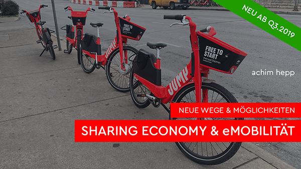 Neue Wege & Möglichkeiten: Sharing Economy & Emobilität