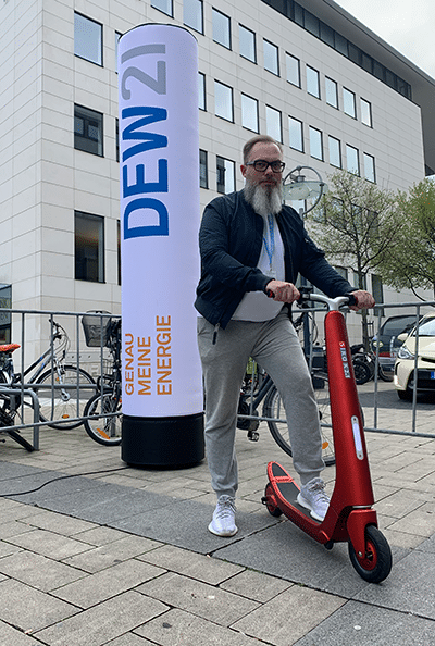 E-Scooter beim DEW21 E-Bike Festival