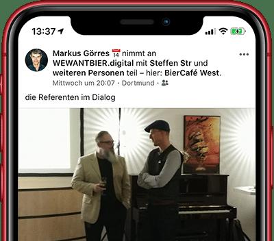 Hepp Wiegand bei WEWANTBIER.digital