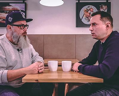 Achim Hepp (links) und Thorsten Wolf im Gespräch