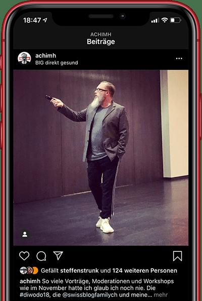 Achim Hepp am moderieren bei der Diwodo (Digitale Woche Dortmund)